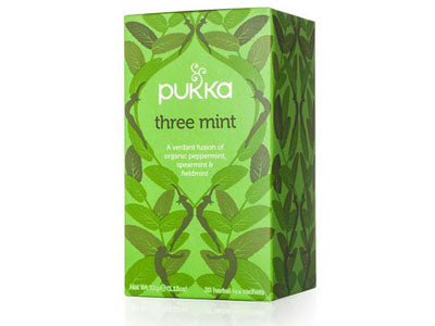 Organic PUKKA Three Mint Tea (Pure&Sure)