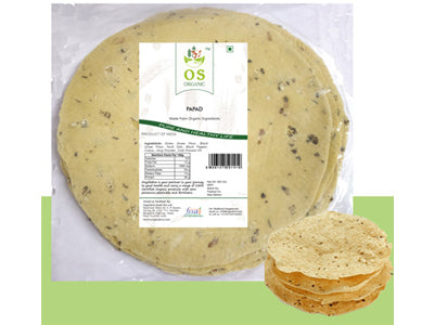 Buy Best Organic Moong Urad Papad Online At Orgpick