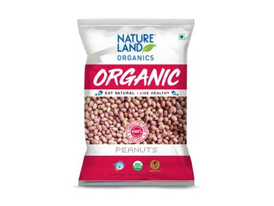 Organic Peanuts (Nature-Land)
