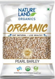 Buy Natureland's Organic Pearl Barley from Orgpick