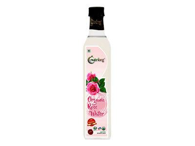 Buy Premium Quality certified Organic Rose Water Online from Orgpick