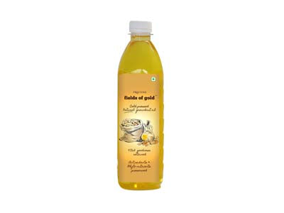 Organic Cold Pressed Natural Groundnut Oil (Pristine)