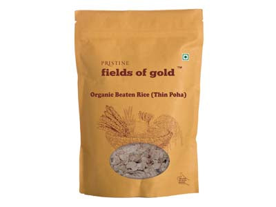 Organic Beaten Rice (Thin Poha) (Pristine)