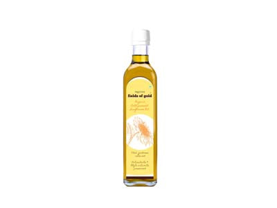 Pure Organic Cold-pressed Sunflower Oil (Pristine) -Orgpick.com
