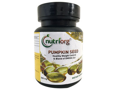 Shop Pumpkin seed Oil Soft Gel Capsule Online