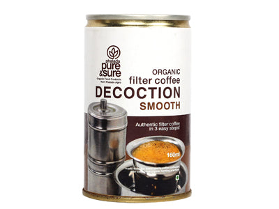 Organic Filter Coffee Decoction - Smooth (Pure&Sure)