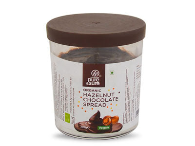 Organic Hazelnut Chocolate Spread (Pure&Sure)
