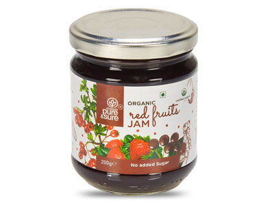 Buy Best Organic Red Fruits Jam Online