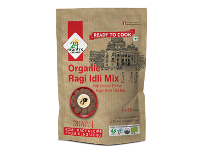 Buy 24 Mantra Organic Ragi Idly Mix Online At Orgpick