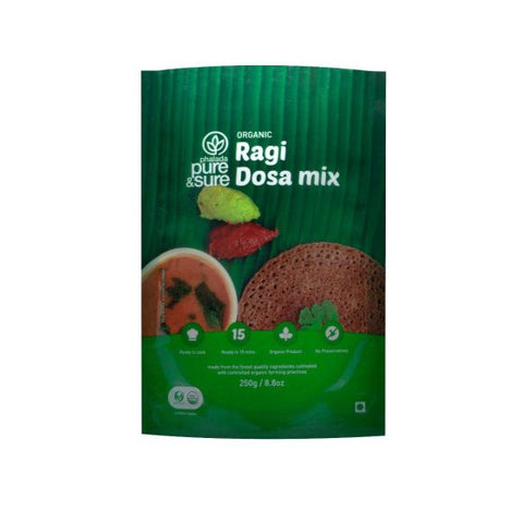 Order Pure & Sure Organic Ragi Dosa Mix,250gm