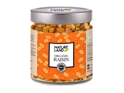 Organic Raisins (Nature-Land)