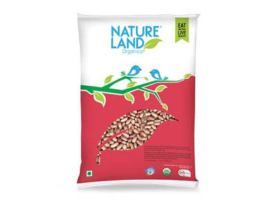 Organic Rajma Chitra (Nature-Land)