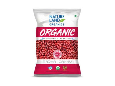 Organic Rajma Jammu (Nature-Land)
