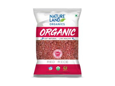 Organic Red Rice (Natures-Land)