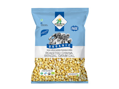 Organic Roasted Chana/Bengal Gram Dal (24 Mantra)