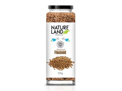 Organic Roasted Flaxseed (Nature-Land)
