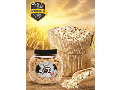 Buy Best Quality Rolled Oats Online from Orgpick