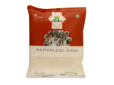 Buy 24 Mantra Organic Sulphurless Sugar Online from Orgpick