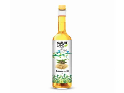 Organic Sesame Oil (Nature-Land)