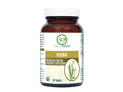 Organic Selenat (90 Tablet) (Geo-Fresh)