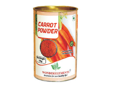 Shop Natural Carrot Powder Online at Orgpick