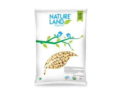 Organic Soybean Whole (Nature-Land)