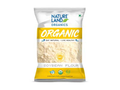 Organic Soybean Flour (Nature-Land)