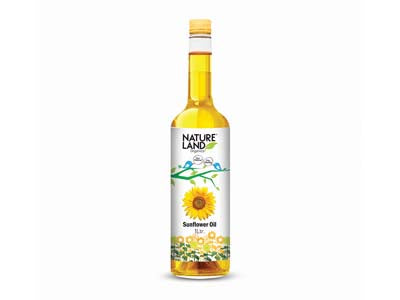 Organic Sunflower Oil (Natures-Land)