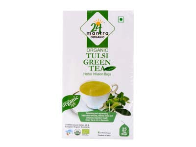 TULSI GREEN TEA(24Mantra) - Orgpick.com