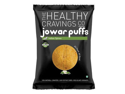 Roasted Jowar Puffs - Indian Spices (The Healthy Cravings Co)
