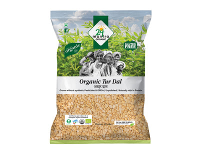 Order 24 Mantra Organic Tur Dal Online from Orgpick