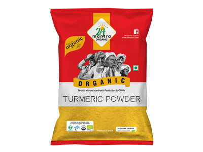 Buy 24 Mantra Organic Turmeric Powder Online At Orgpick