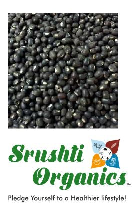 Buy best Srushti Organics Urad Whole Online at Orgpick