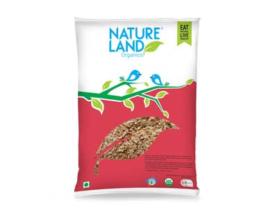 Organic Wheat Bran (Nature-Land)