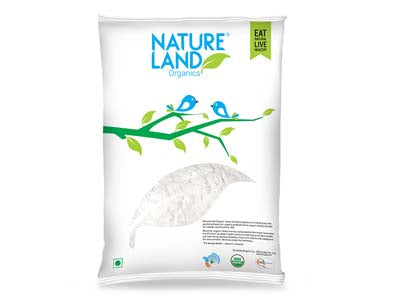 Organic Wheat Maida (Natures-Land)