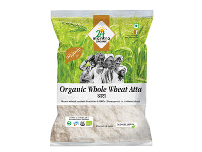 Buy 24 Mantra Organic Premium Whole Wheat Atta Online At Orgpick