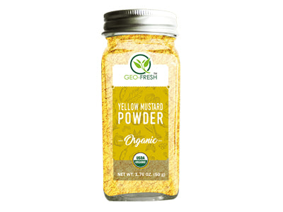 Organic Yellow Mustard Powder (Geo-Fresh)