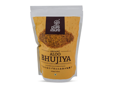 Buy Pure & Sure Organic Aloo Bhujiya Online At Orgpick