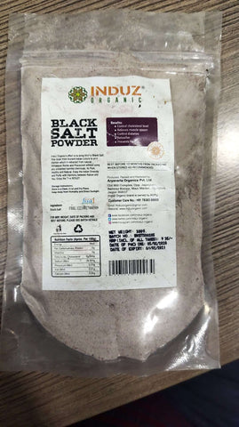 Order Induz Organic Black Salt Powder Online From Orgpick