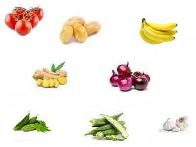 Organic Vegetables & Fruits Box