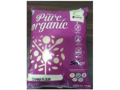 Buy Best Organic Chana Flour Online At Orgpick