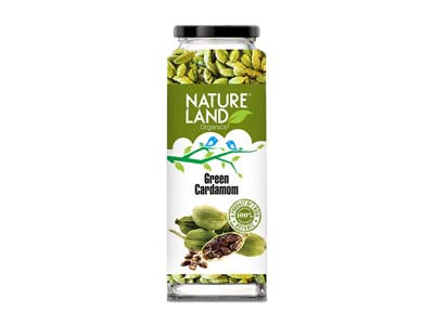 Organic Green Cardamom (Nature-Land)