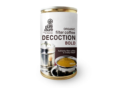 Organic Filter Coffee Decoction - Bold (Pure&Sure)