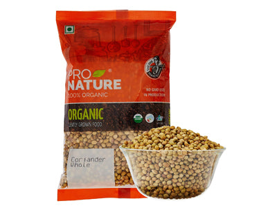 Organic Coriander Whole (Pro Nature)