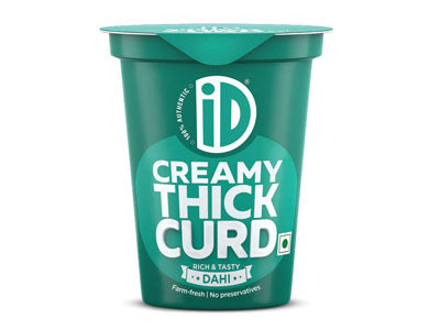 Order iD Fresh Natural Creamy Thick Curd Online at Orgpick
