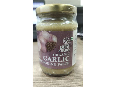 Buy Organic Garlic Cooking Paste Online At Orgpick