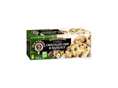 Buy MacAndrews Chocolate Chip & Hazelnut Cookies Online At Orgpick