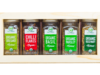 Organic Italian Seasoning Pack (Geo-Fresh)