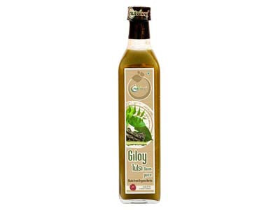 Order 100% Natural Giloy Tulsi Neem Juice Online AT Orgpick