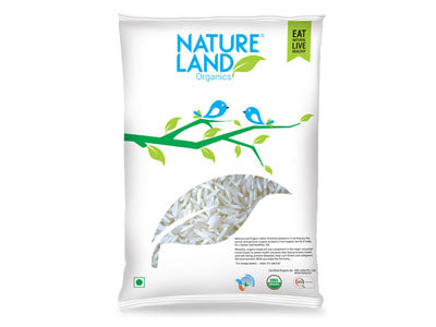 Buy Natureland's Organic Premium Basmati Rice Online At Orgpick